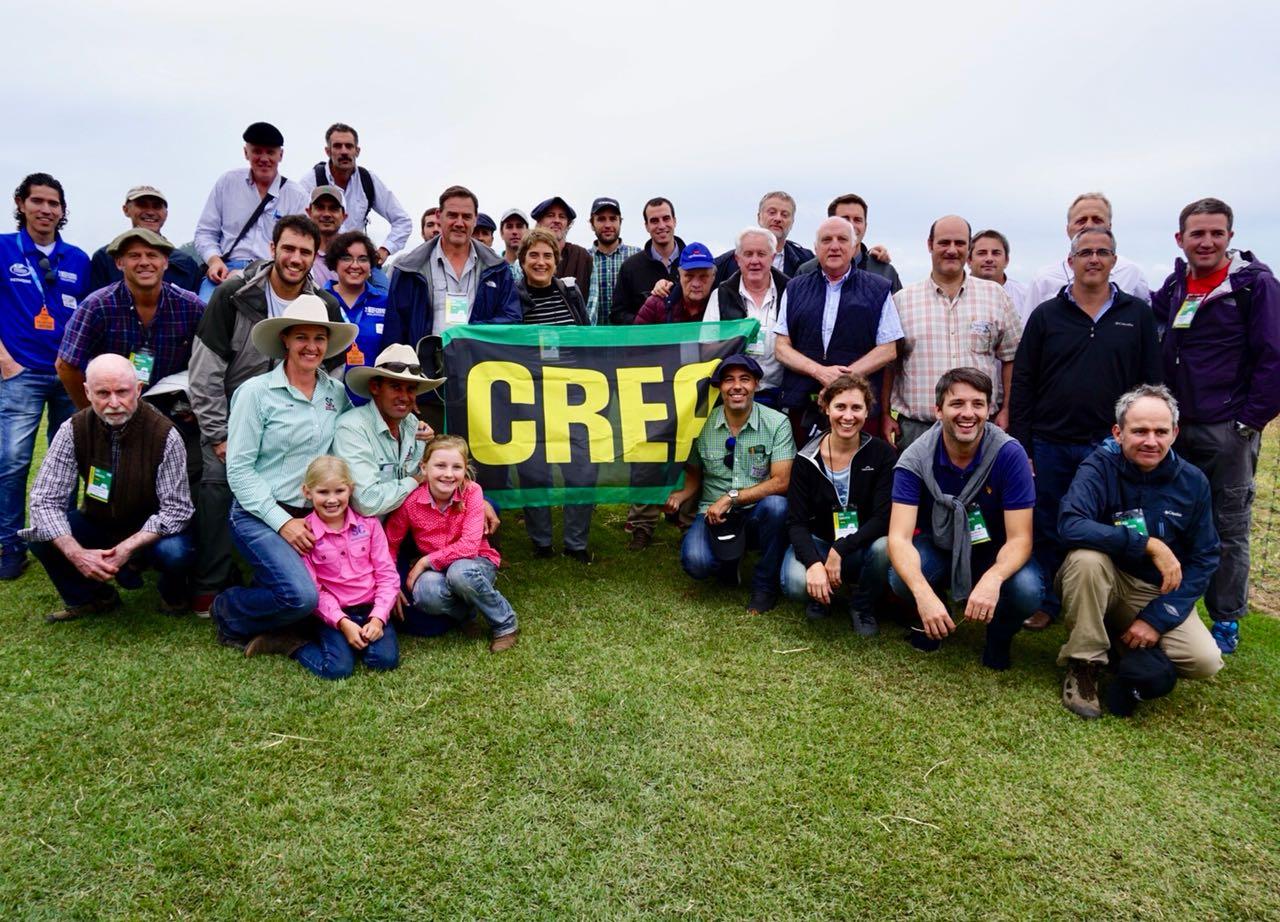 Productores CREA, técnicos y funcionarios fueron recibidos por productores australianos.