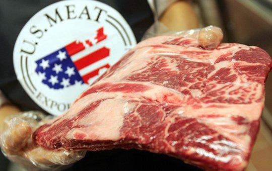 En mayo, Estados Unidos tuvo las menores exportaciones de carne en diez años