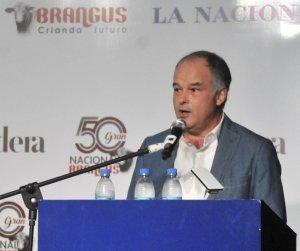 Víctor Navajas, Presidente de la Asociación Argentina de Brangus.