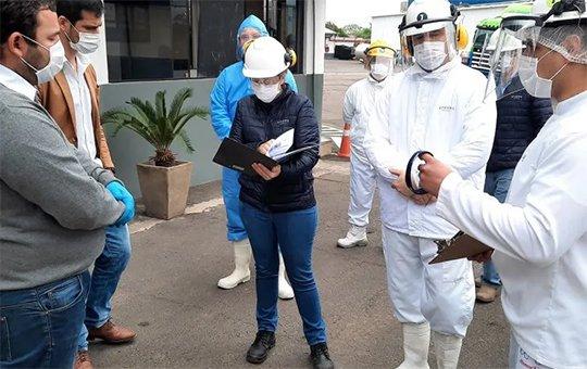 Importante frigorífico de Paraguay confirmó 115 casos de Covid-19