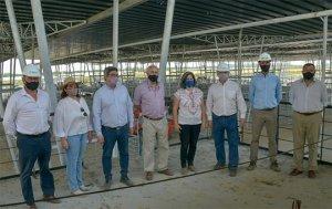 Autoridades nacionales, provinciales y municipales visitaron las instalaciones del mercado Agrogandero de Cañuelas.